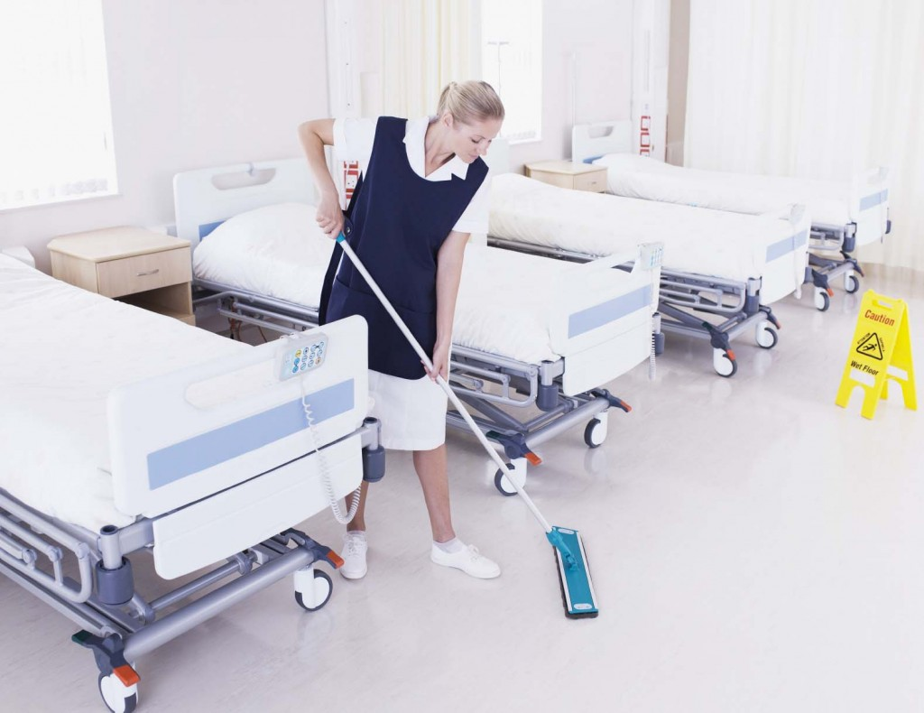 التخلص من المراتب والوسائد الملوثة بدماء وسوائل جسم المريض
