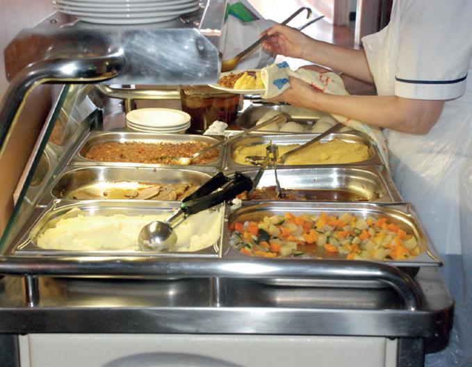 نفايات الأطعمة في المستشفيات