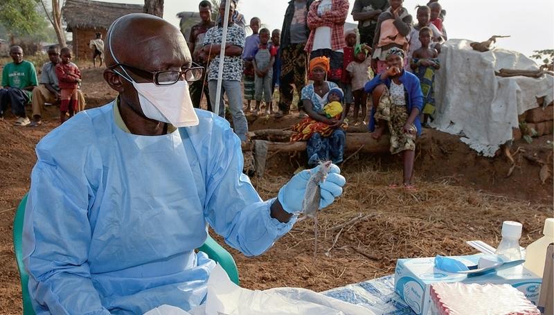 حمى لاسا: التعامل مع المريض ونفاياته الطبية