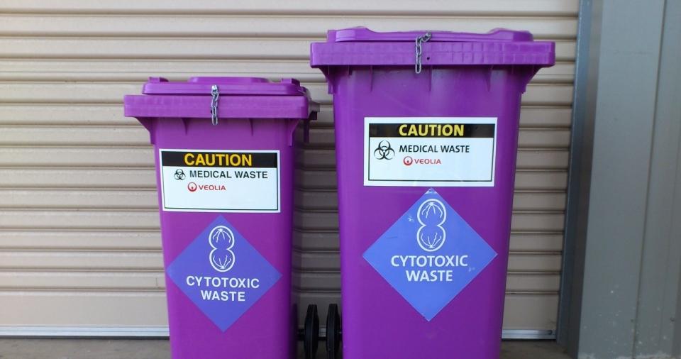 أستراتيجية لإدارة سليمة لنفايات العلاج الكيماوي في المستشفيات