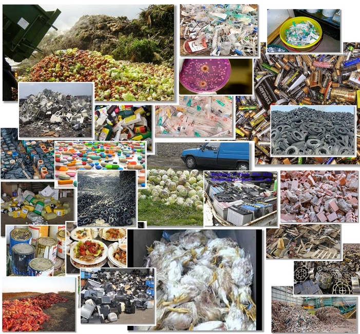 لائحة أنواع النفايات لوكالة حماية البيئة الإمريكية