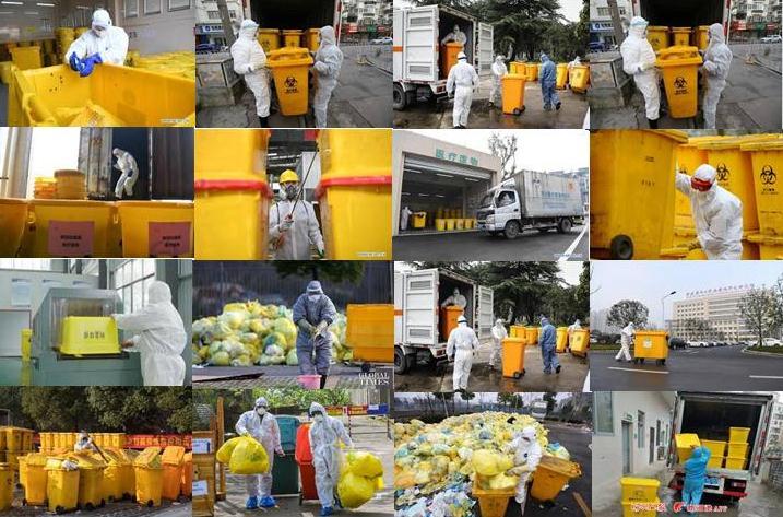 جائحة فيروس الكورونا وإدارة النفايات